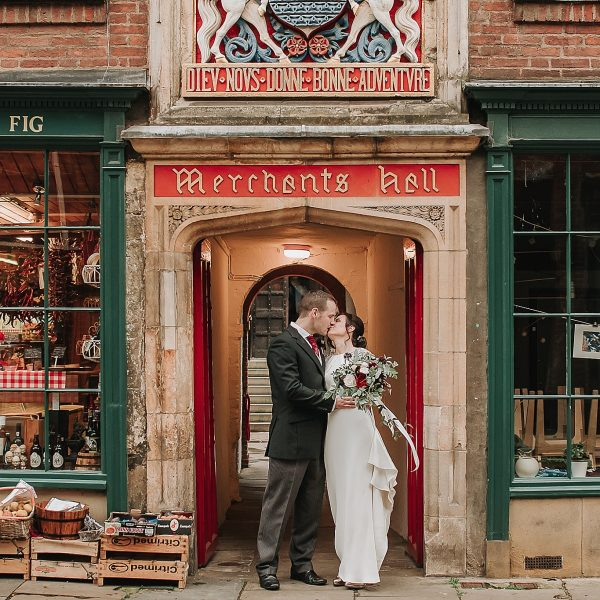 Autumn Wedding in York | Jamie & Irini