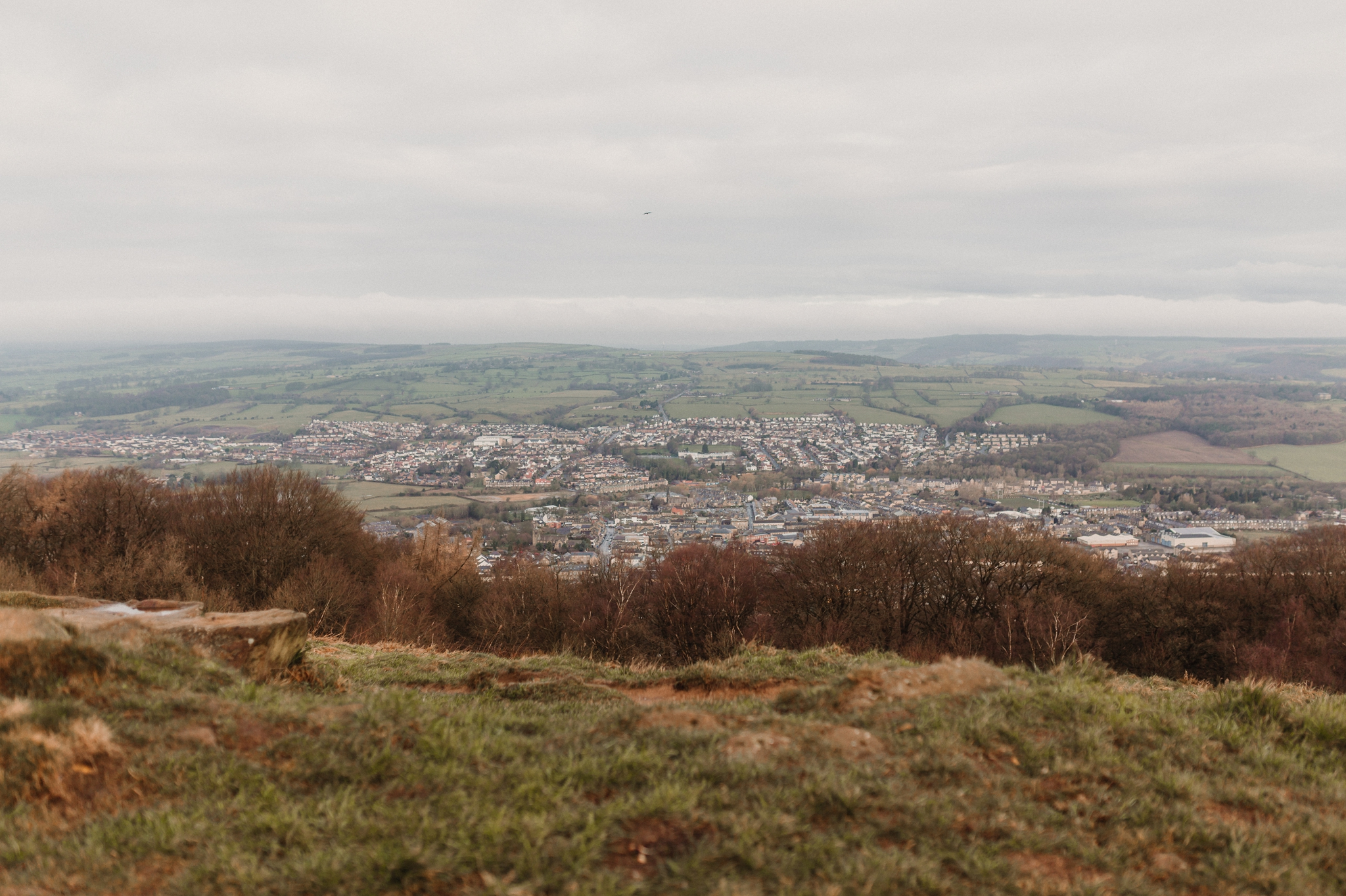 view of otley chevin